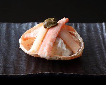 名物!紅ずわい蟹 とやま盛り<br /> カニ身たっぷり!旨味が口いっぱいに広がります